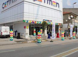 Dikme Balon ve Zincir Balon Süsleme Kocaeli Açılış Organizasyonu