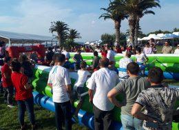 Canlı Langırt Oyun Parkurunda Yarışma Anları İzmir