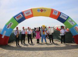 Bando Takımı ve Çizgi Film Maskotları Eşliğinde Şenlik Organizasyonunda Keyifli Dakikalar