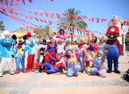 Tahta Bacak Gösterisi ve Çizgi Film Maskotları Kiralama İzmir