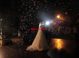 Düğün Organizasyonu Konfeti Hizmeti İzmir Organizasyon