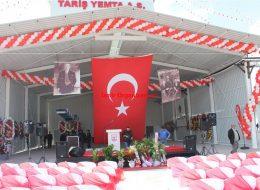 Tariş Temel Atma Töreni Organizasyonu İzmir Organizasyon