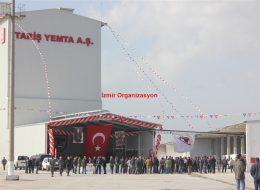 Tariş Açılış Organizasyonu Etkinlikleri İzmir Organizasyon