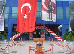 Balon Süsleme ve Kürsü Kiralama Hizmeti İzmir Organizasyon