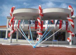 Otogar Açılış Organizasyonu Süsleme Hizmetleri İzmir Organizasyon