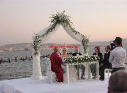Düğün Organizasyonu Nikah Masası Süsleme