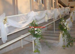 Tırabzan Çiçek ve Tül Süslemeleri İzmir