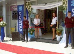 Açılış Organizasyonu Tül ve Çiçek Süsleme İzmir