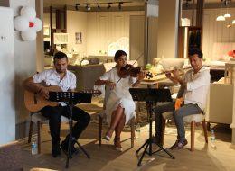 Trio Müzik Grubu Kiralama Açılış Organizasyonu