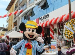 Zincir Balon Süsleme ve Mickey Mouse Çizgi Film Maskotu Kiralama