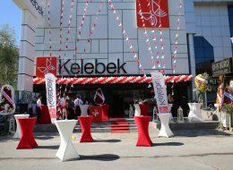 İzmir Kelebek Mobilya Açılış Organizasyonu Balon ve Bayrak Süsleme İzmir Organizasyon