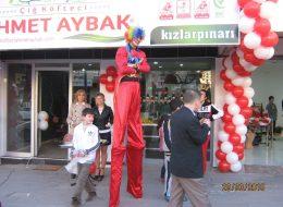 Kızlarpınarı Açılış Organizasyonu Tahta Bacaklı Adam Gösterisi İzmir Organizasyon