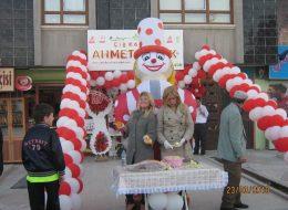 Ahmet Aybak Açılış Organizasyonu Balon Süsleme İzmir Organizasyon