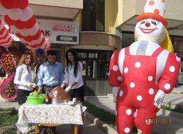Şişme Maskot ve Palyaço Gösterisi İzmir Organizasyon