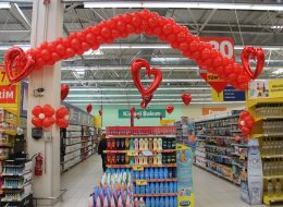 Uçan Balon ve Papatya Balon Süsleme Açılış Organizasyonu İzmir
