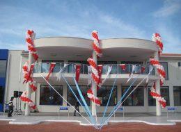 Tül Süsleme ve Zincir Balon Süsleme İzmir Açılış Organizasyonu
