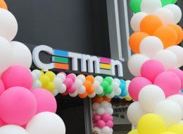 Firma Açılış Organizasyonu Renkli Balon Süsleme İzmir