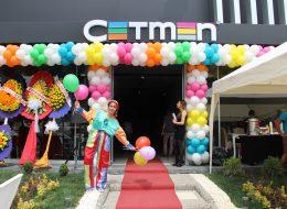 Zincir Balon Süsleme ve Renkli Baskılı Balonların Palyaço Eşliğinde Dağıtımı İzmir