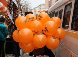 İzmir Baskılı Balonlar ile Açılış Organizasyonu