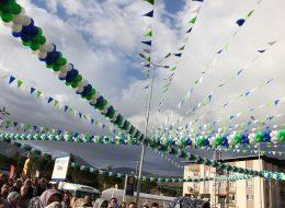 İzmir Bayrak ve Balon Süsleme Açılış Organizasyonu