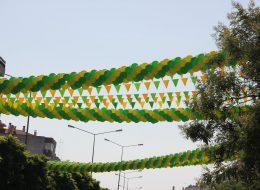 Üçgen Bayrak Süsleme İzmir Organizasyon