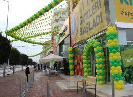 Bayrak ve Kapı Takı Balon Süsleme Açılış Organizasyonu İzmir