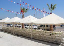 Çadır ve Gölgelik Kiralama Bayrak Süsleme Açılış Organizasyonu İzmir