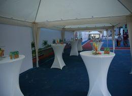 Beyaz Kokteyl Masası Kiralama Açılış Organizasyonu İzmir