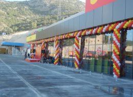 Bodrum Zincir Balon Süsleme İzmir Organizasyon