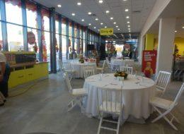 Baumax Açılış Organizasyonu Masa Kiralama İzmir Organizasyon