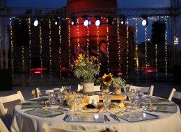 Işık Şelalesi Kiralama Masa ve Sandalye Temini İzmir