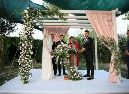 Nikah Kürsüsü Kiralama ve Çiçek Süsleme İzmir