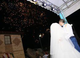 Havai Fişek Gösterisi Eşliğinde Düğün Organizasyonunda Dans