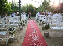 Yürüyüş Yolu Süsleme ve Kırmızı Halı Kiralama İzmir