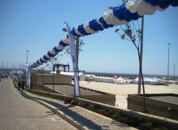 Didim Marina Açılış Organizasyonu Profesyonel Balon Hizmeti İzmir Organizasyon