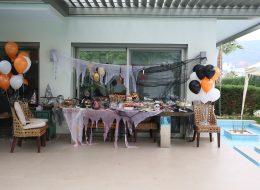 Konseptli Doğum Günü Organizasyonu Masa Süsleme İzmir