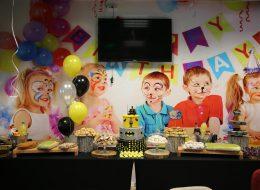 Uçan Balon ve Masa Süsleme Doğum Günü Organizasyonu İzmir