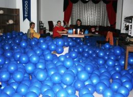 İzmir Organizasyon Ekibi Balon Süsleme Hazırlıkları İzmir Organizasyon