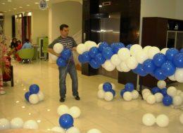 Doğtaş Mobilya Açılış Organizasyonu Balon Süsleme Hazırlıkları İzmir Organizasyon