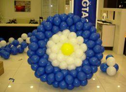 Doğtaş Mobilya Açılış Organizasyonu Özel Tasarım Balon Süsleme İzmir Organizasyon