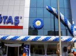 İzmir Doğtaş Mobilya Açılış Organizasyonu Özel Tasarım Balon Süsleme İzmir Organizasyon