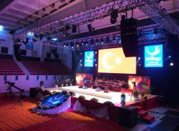 Profesyonel Ses Sahne ve Işık Sistemi Kiralama İzmir