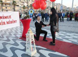 Kordonda Evlilik Teklifi Organizasyonu Evlenme Teklifi Anı