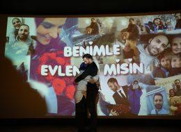 Sinemada Duygusal Evlilik Teklifi Organizasyonu İzmir