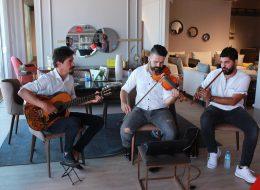 Trio Müzik Grubu Eşliğinde Açılış Organizasyonu