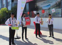 Papatya Balon Süsleme ve Bando Ekibi Kiralama Açılış Organizasyonu Finike