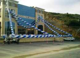 Aydın Zincir Balon Süsleme İzmir Organizasyon