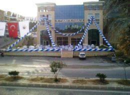 Kuşadası Zincir Balon Süsleme İzmir Organizasyon