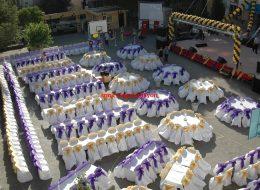 Masa ve Sandalye Süsleme Mezuniyet Organizasyonu İzmir