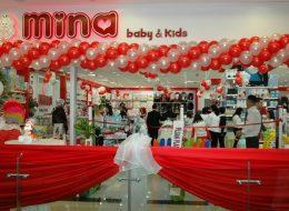 Mina Baby & Kids Açılış Organizasyonu Tül Süsleme İzmir Organizasyon